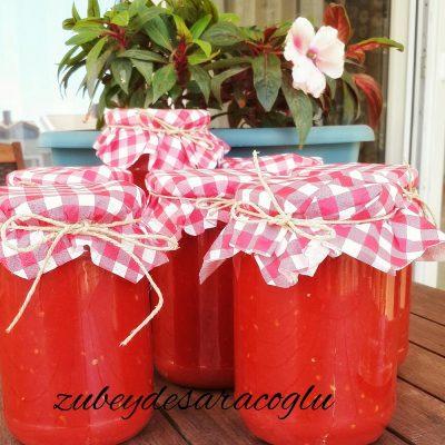 ev yapımı domates sos