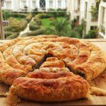 El Açması Patlıcanlı Börek