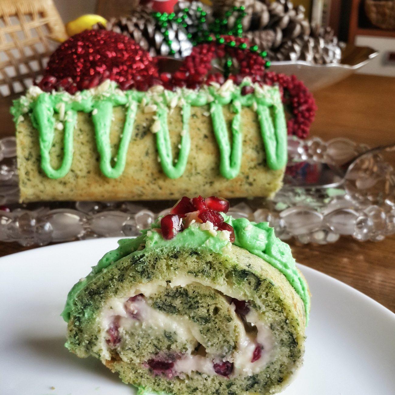 Rulo Yılbaşı Pastası