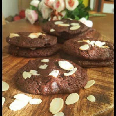 türk kahveli browni kurabiye