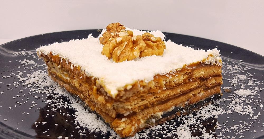 Balkabaklı Bisküvili Pasta