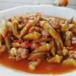Etli Bamya Yemeği
