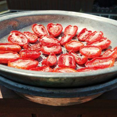 kurutulmuş domates