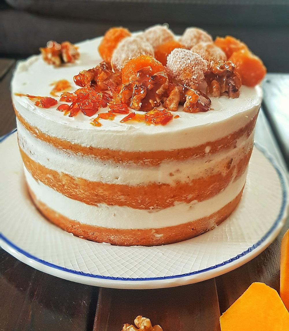 Balkabaklı Karamelli Pasta