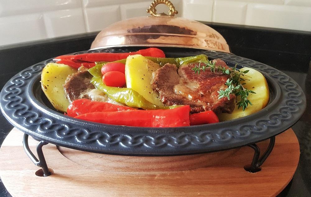 pratik patatesli biftek