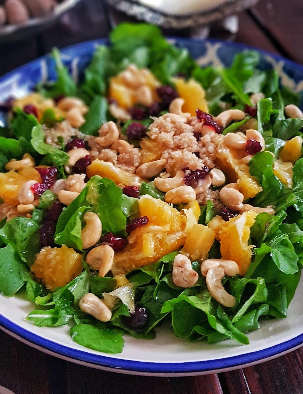 Kionalı Roka salatası