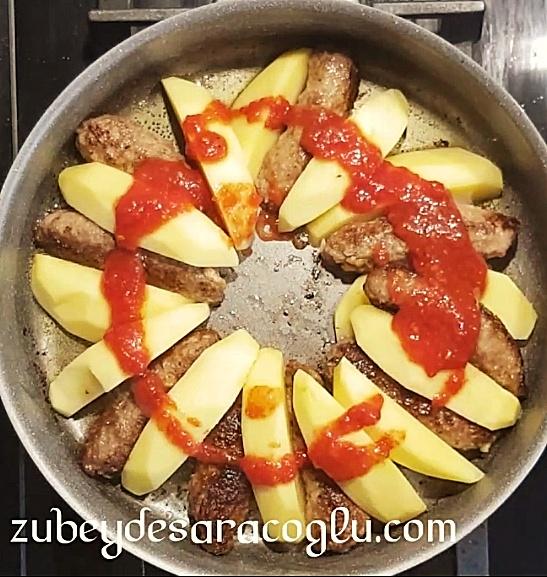 kofte-patates-tava