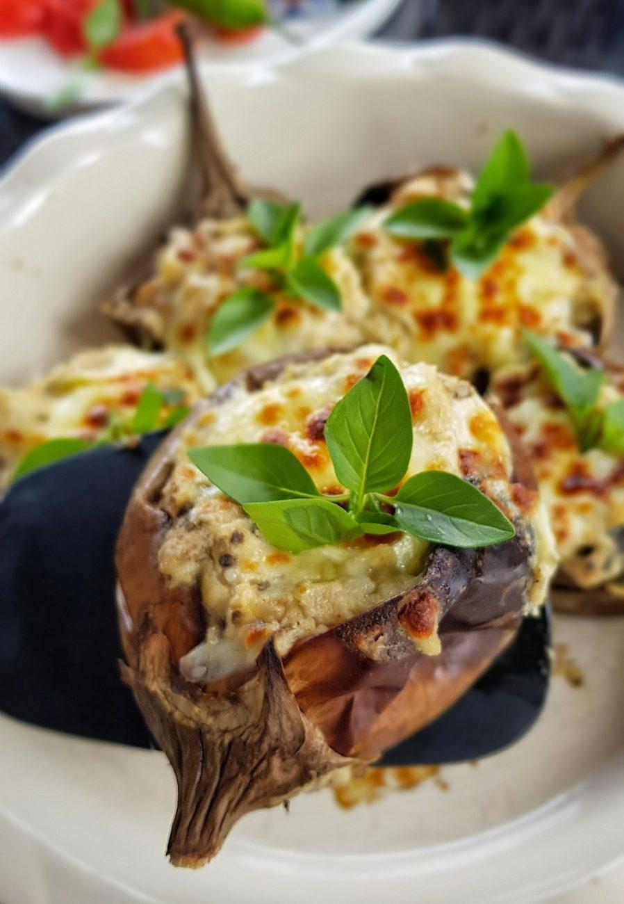 Beşamel Soslu Tavuklu Patlıcan
